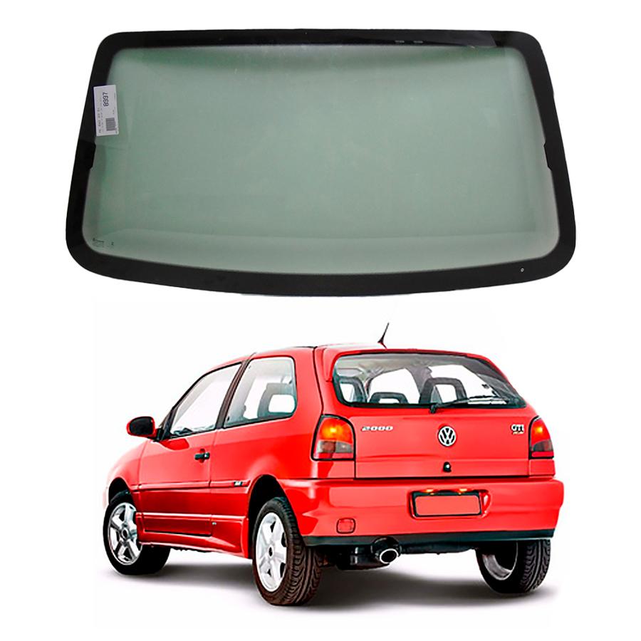 Vidro Traseiro Vigia Volkswagen Gol G3 99/05 Tritemp