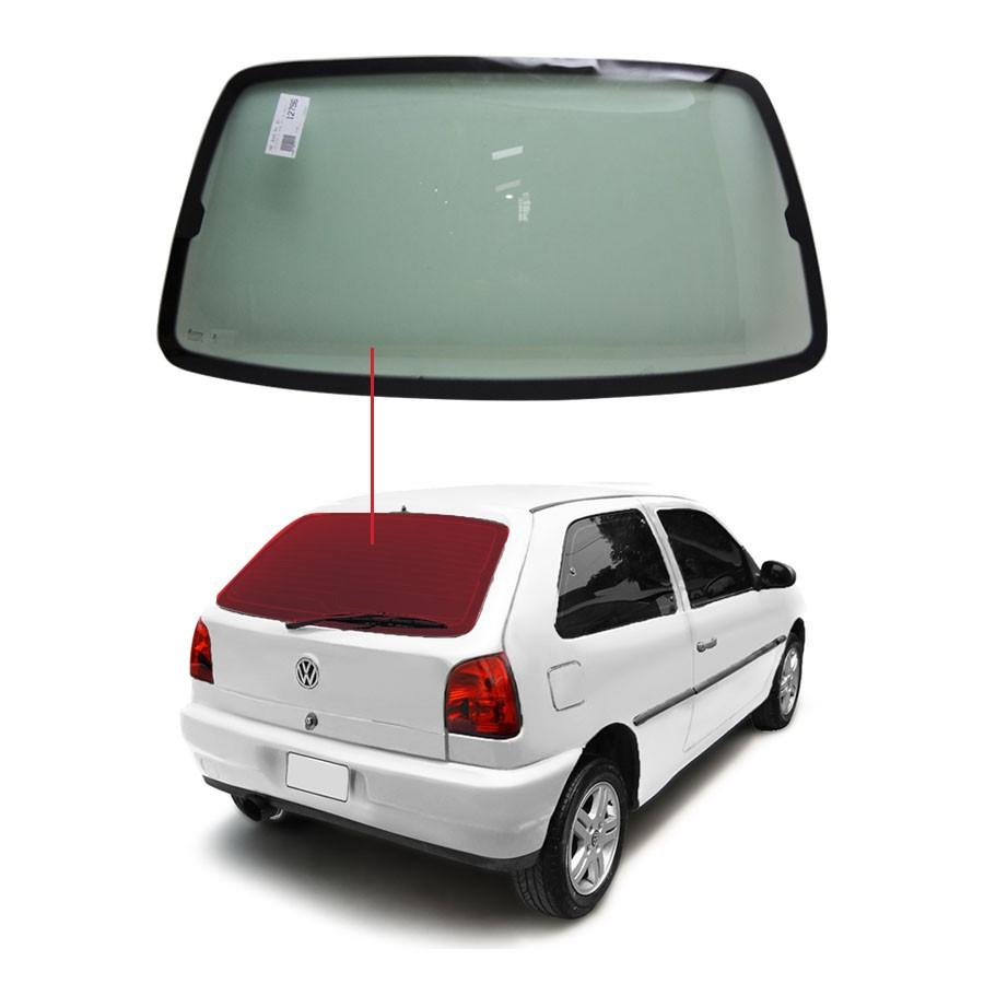 Vidro Traseiro Vigia Volkswagen Gol Bola 94/05 Tritemp