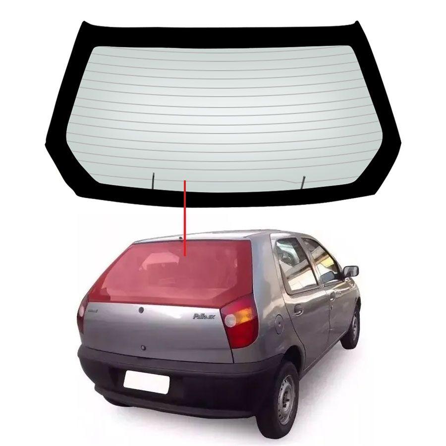 Vidro Traseiro Vigia Fiat Palio 96/00 Saint Gobain