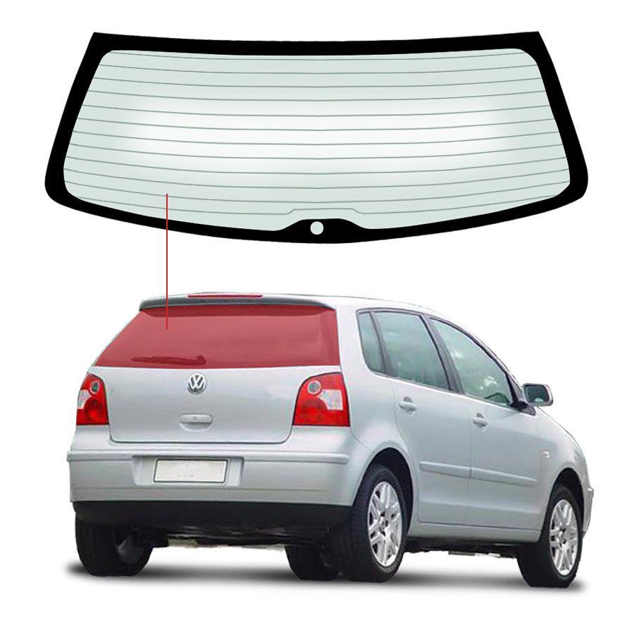 Vidro Traseiro Vigia Volkswagen Polo 02/06 Saint Gobain