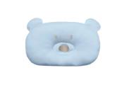 Almofada Urso - Azul - Bordado Protegido - 33cm x 22cm - Suedine 100% Algodão - Hug