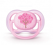 Chupeta Ultra Air 0 a 6 meses Philips Avent - Rosa
