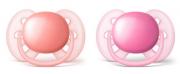 Chupeta Ultra Soft Lisa Dupla - 6 à 18 meses - Philips Avent