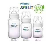 Kit Mamadeiras Clássica - 125ml, 260Ml  e 330 ml - Philips Avent