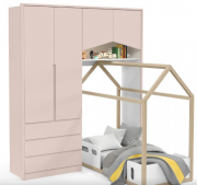 Roupeiro Baby House - MDF - Matic