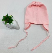 Touca em Tricô C/ Cordinha - Tricart Baby