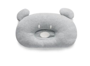 Almofada Urso - Cinza - Bordado Protegido - 33cm x 22cm - Suedine 100% Algodão - Hug