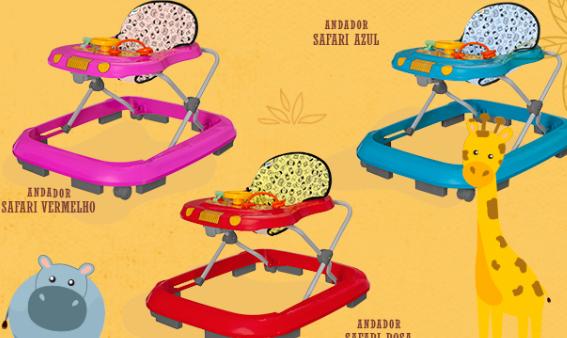 Andador Safari - Tutti Baby