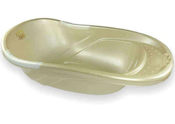 Banheira Conforto Dourado - 34 Litros - Adoleta Bebê