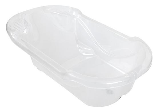 Banheira Ergonômica Transparente Safety Comfort 28 Litros -Tutti Baby