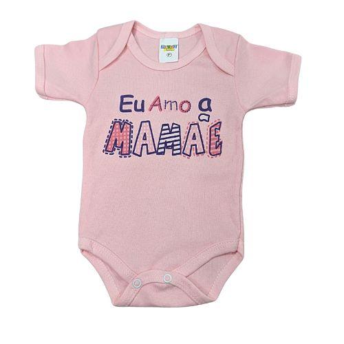 Body Eu Amo a Mamae - Tam M - Gente Miúda