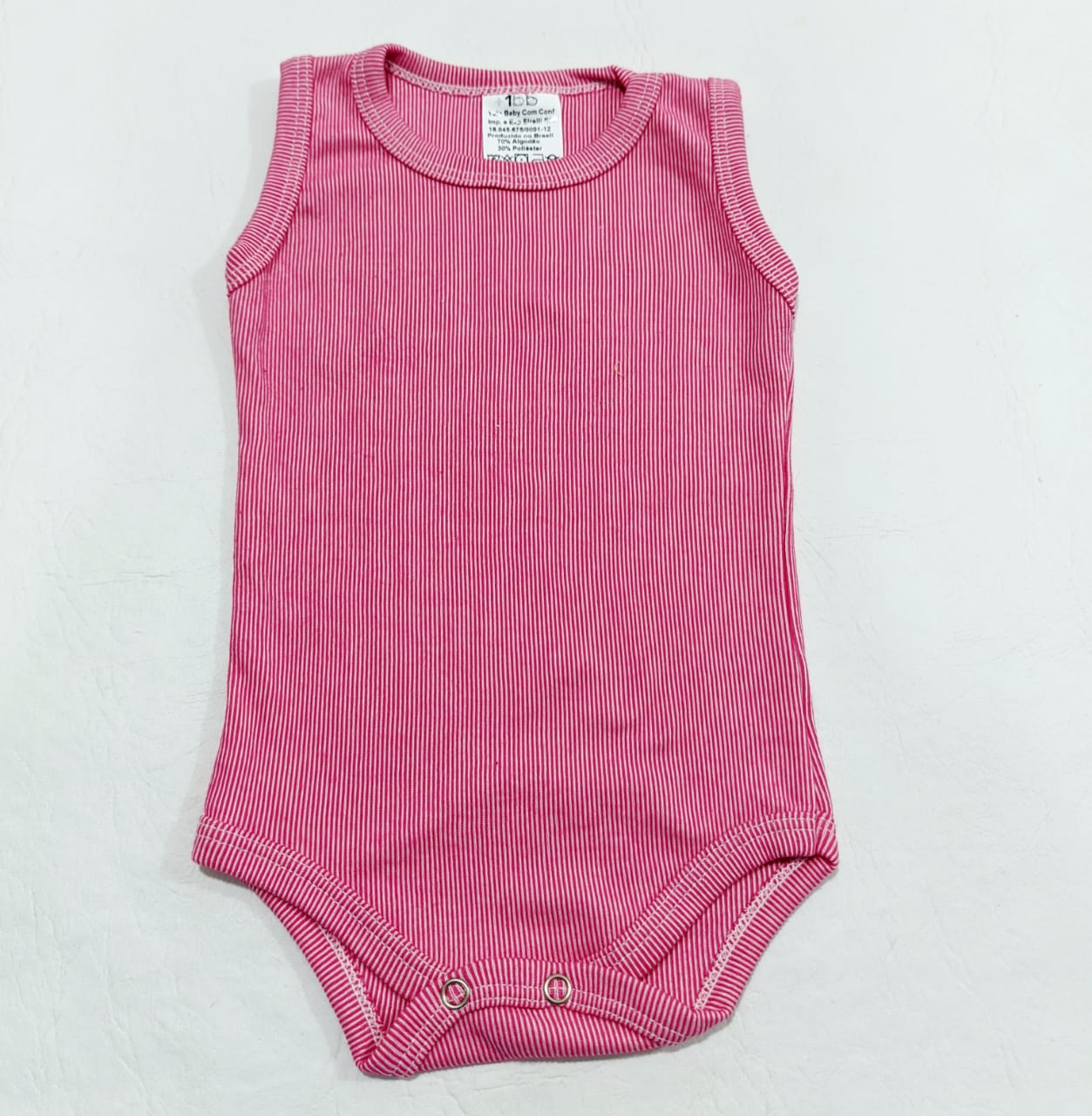 Body Regata - Cores Diversas - 4 à 6 meses - Em Algodão - Yala Baby