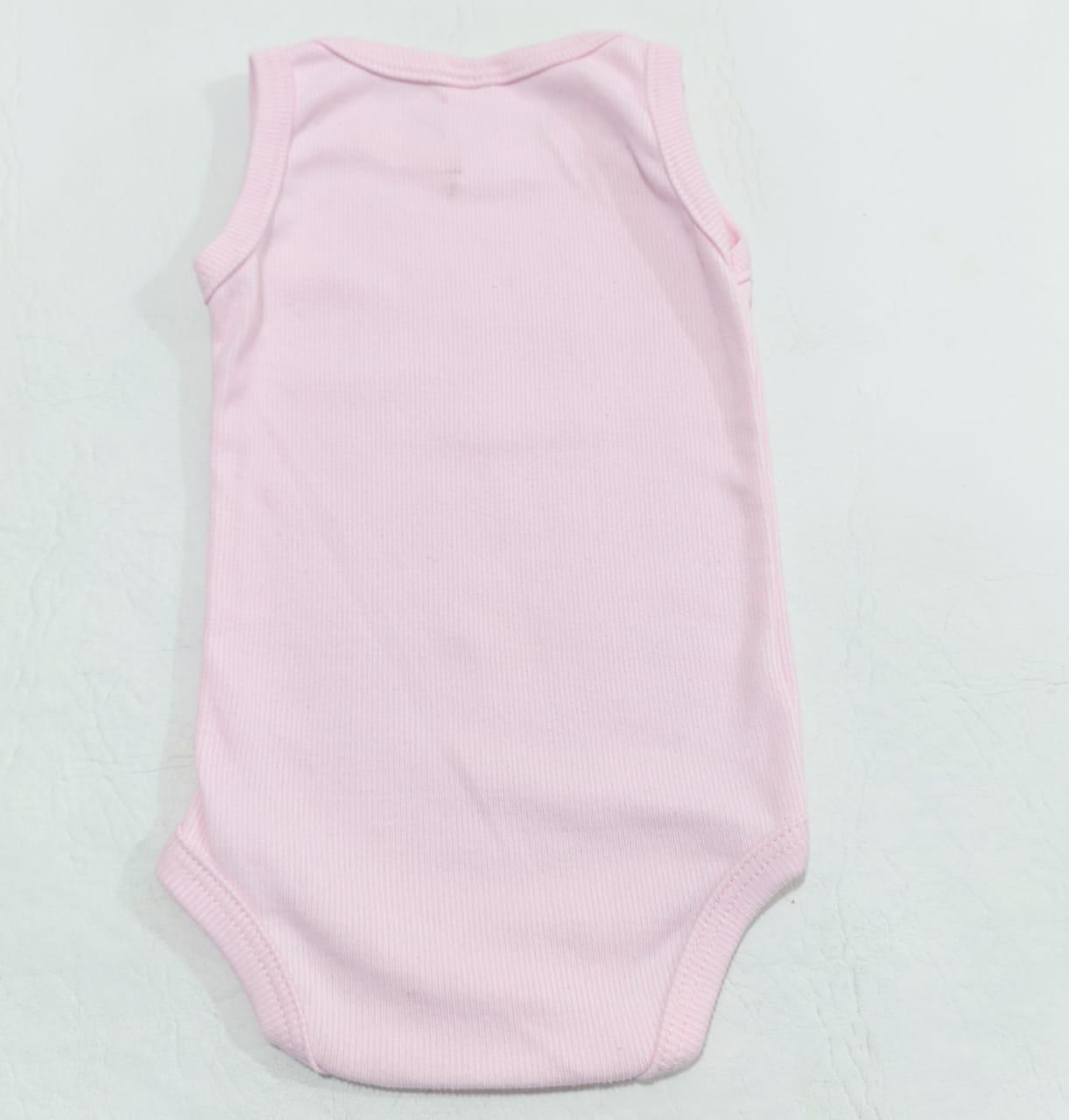 Body Regata - Cores Diversas - 7 à 10 meses - Em Algodão - Yala Baby