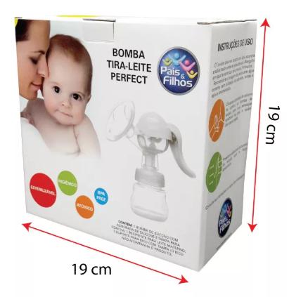 Bomba Tira Leite Manual - Perfect - Pais e Filhos