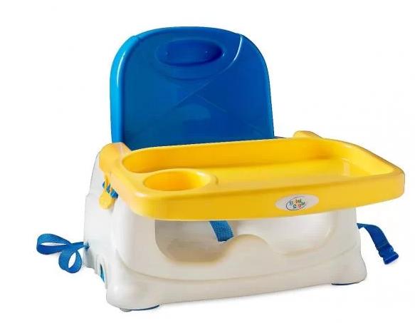 Cadeira Cadeirinha Alimentação Bebê Booster Portátil - Baby Style