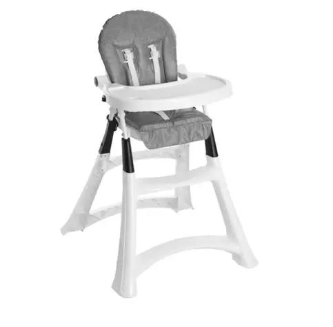 Cadeira de Alimentação Alta - Premium Grafite - Galzerano