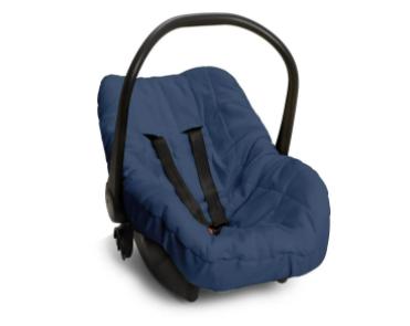 Capa de bebê conforto - azul Marinho-  58cm x 84cm Suedine 100% Algodão