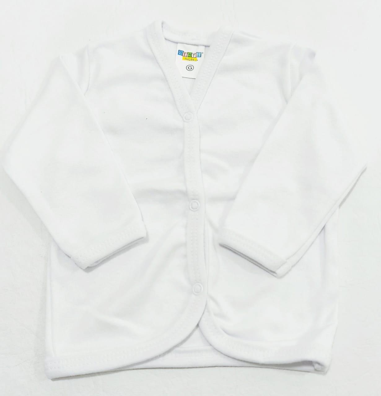 Casaco Estampado - 01 peça - 100% Algodão Suedine - Gente Miúda