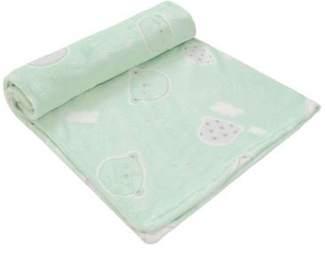 Cobertor De Microfibra - Estampado 1,10m X 85cm -  Papi Baby