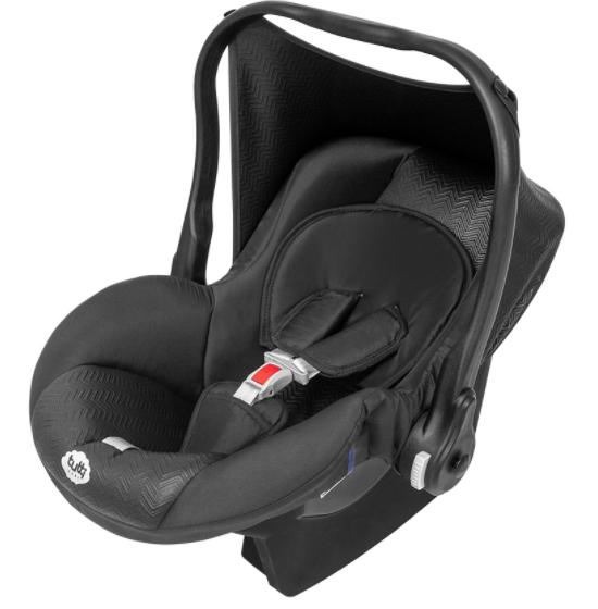 Conjunto Black - Carrinho + Bebê Conforto - 02 Peças - Tutti Baby
