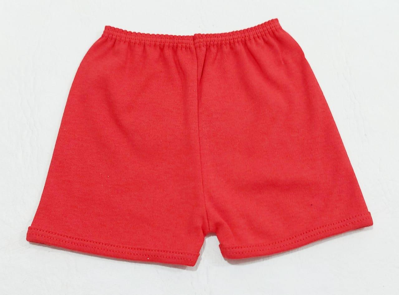 Conjunto Patinha - 02 Peças - Body E Shorts  - 100% Algodão - Baby Amore