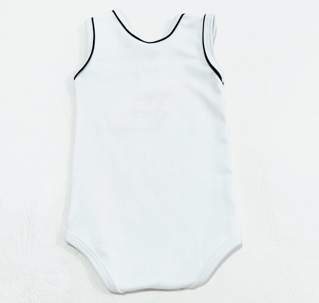 Conjunto Ursinho Pescador - 02 peças - Body E Shorts - 100% Algodão - Baby Amore