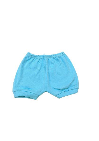 Conjunto City Azul - Body Meia Manga e Shorts - 02 Peças - 05 à 10 meses - 100% Algodão - Mafessoni Baby