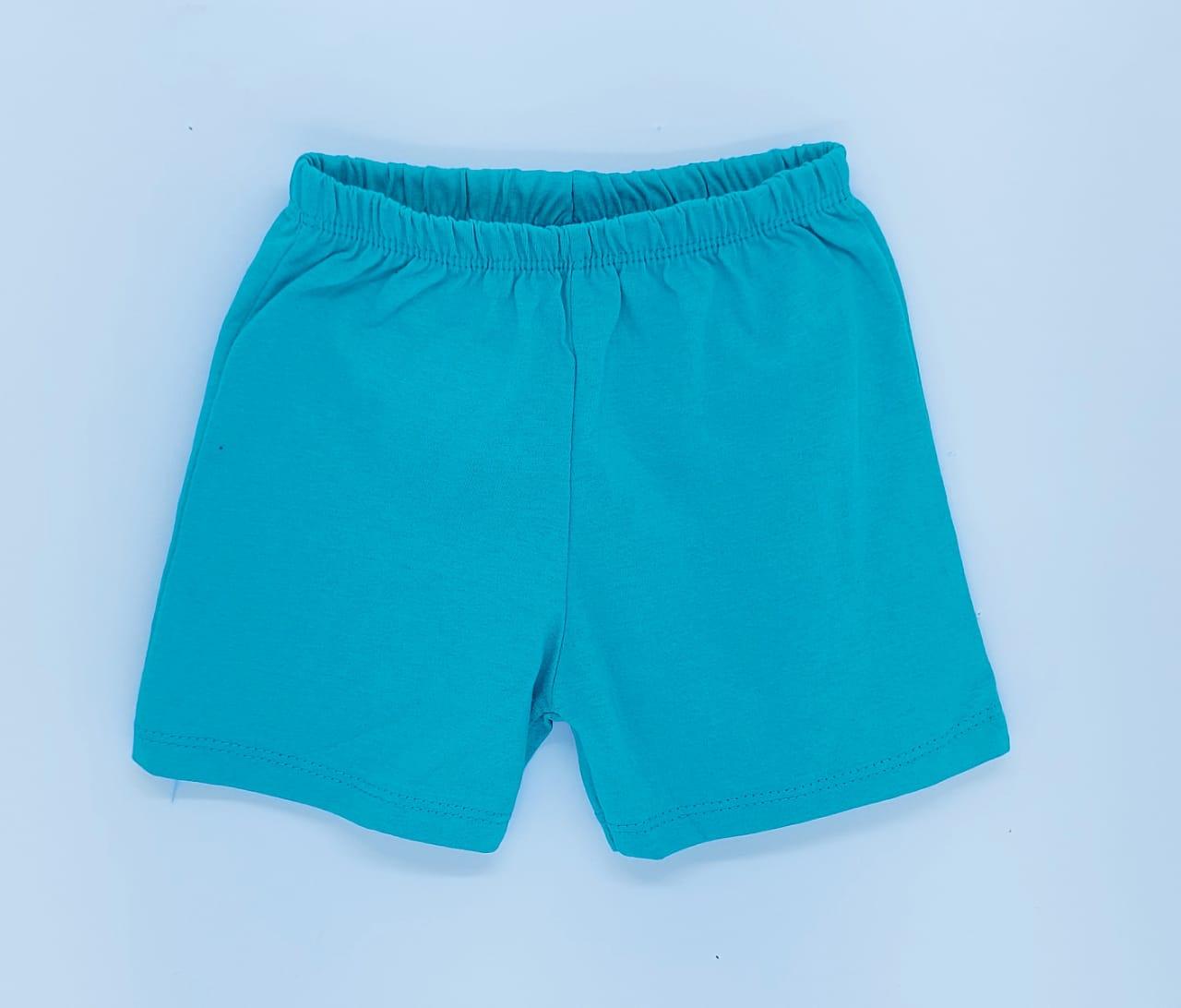 Conjunto Ursinho Piloto - Camisa Regata E Shorts - 02 Peças - 100% Algodão - Happy Baby