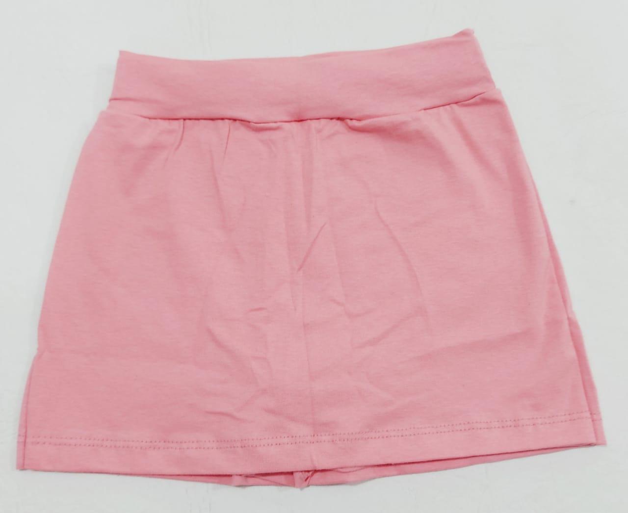 Conjunto Verão Dog - Camisa Regata e Shorts Saia - 02 Peças - 4 à 8 anos - Fashion Kids