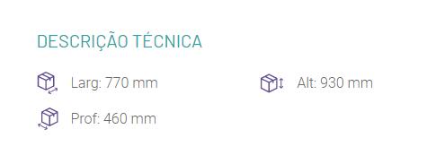 Gaveteiro Zupy - 5 Gavetas - Cores com Natural - MDF - Matic