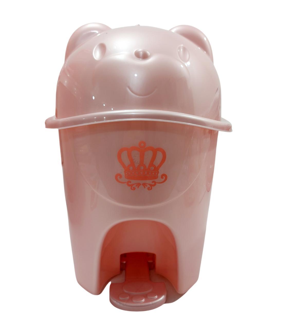 Lixeira Majestic C/ Pedal - 6,5 Litros - Cores Variadas - Adoleta Bebê