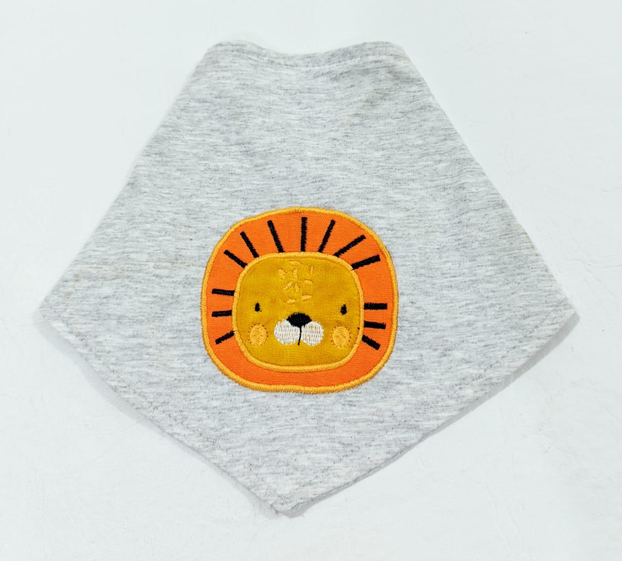 Macacão Safari + Bandana - Curto S/ Mangas - 02 Peças - 2 à 10 meses - 100% Algodão - Curioso