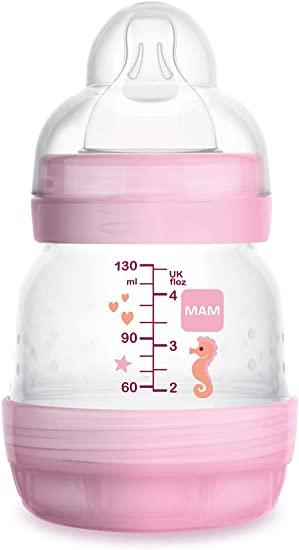 Mamadeira Easy Start First Bottle -  130ml - 0+ -MAM