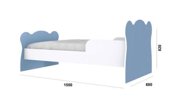 Mini Cama Infantil - Ref 1590 - Percasa