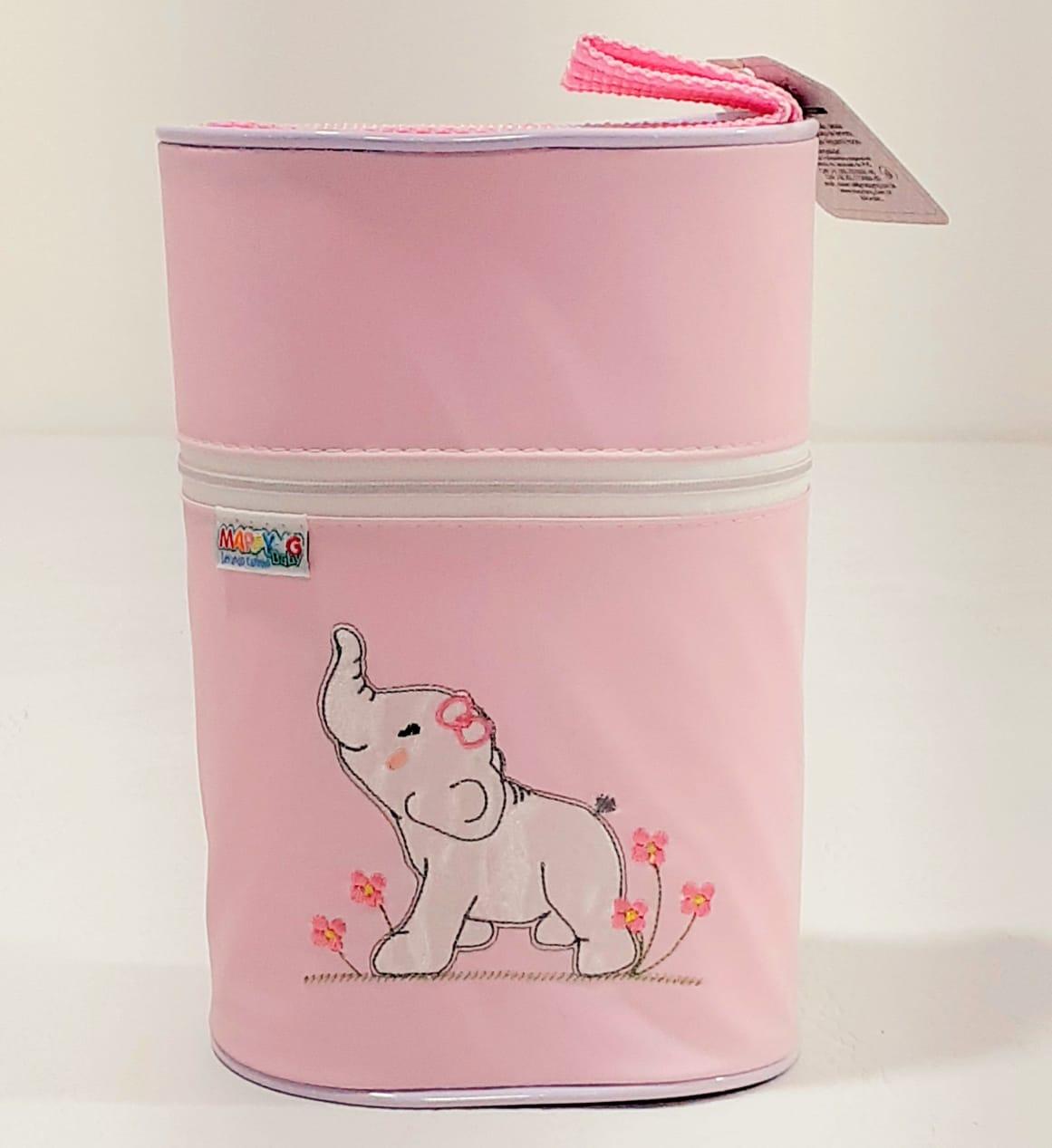 Porta Mamadeira Térmico Duplo - Mappyng Baby