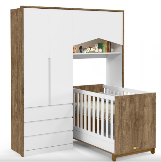 Roupeiro Baby House - MDF - Matic