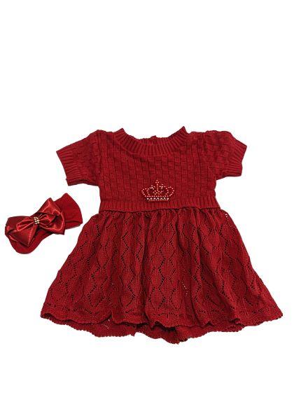 Saída de Maternidade - Coroa de Pérolas - 4 peças - Djiele