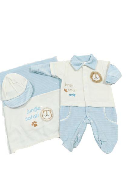 Saída de Maternidade Plus 03 Peças Pimpinha - Leãozinho