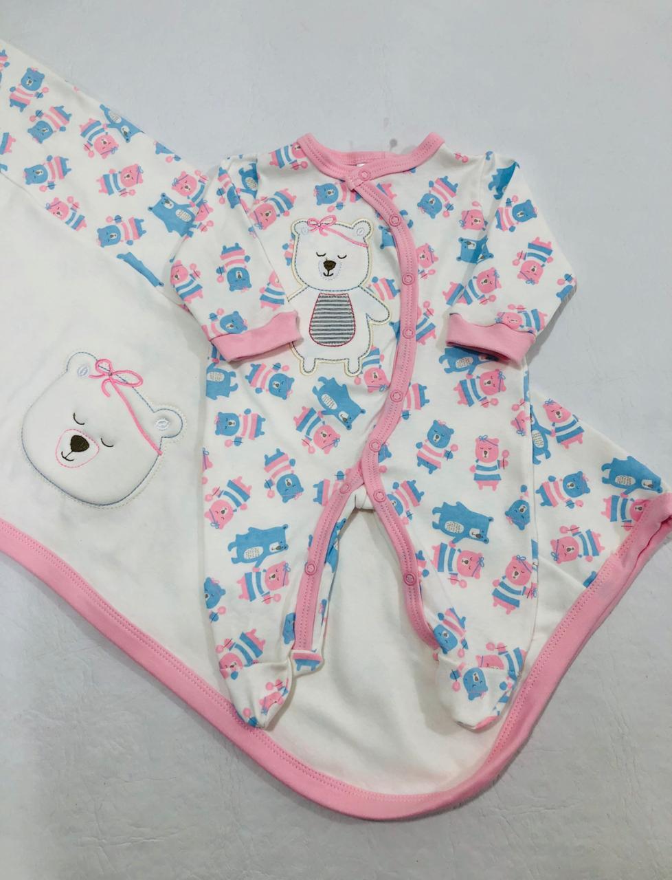 Saída de Maternidade - Ursinha RN - Curioso