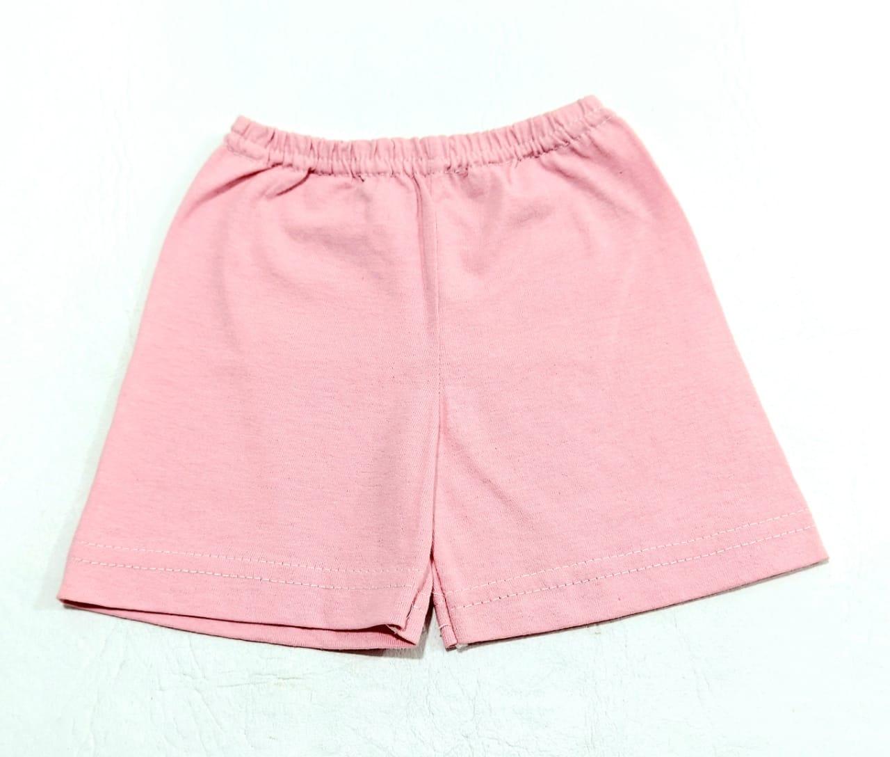 Shorts Em Malha 100% Algodão - Estampas Diversas