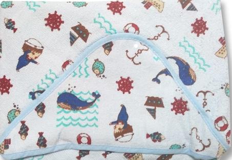 Toalha de Banho Felpuda - Com Capuz - 90 cm x 70 cm - Karinho