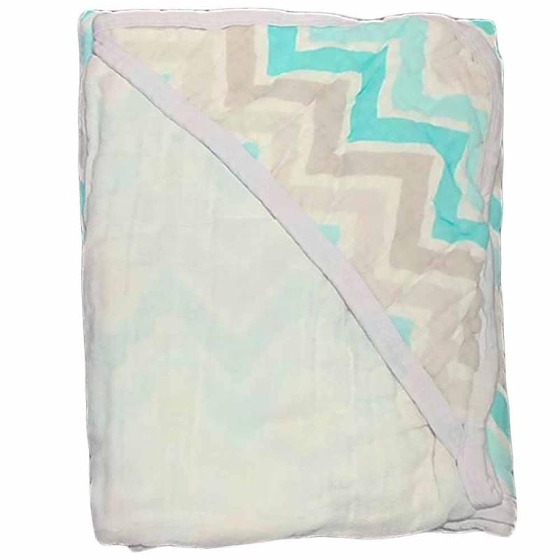 Toalha de Banho Soft - Estampada - 100% Algodão - 85cm x 85cm - Loupiot Minasrey