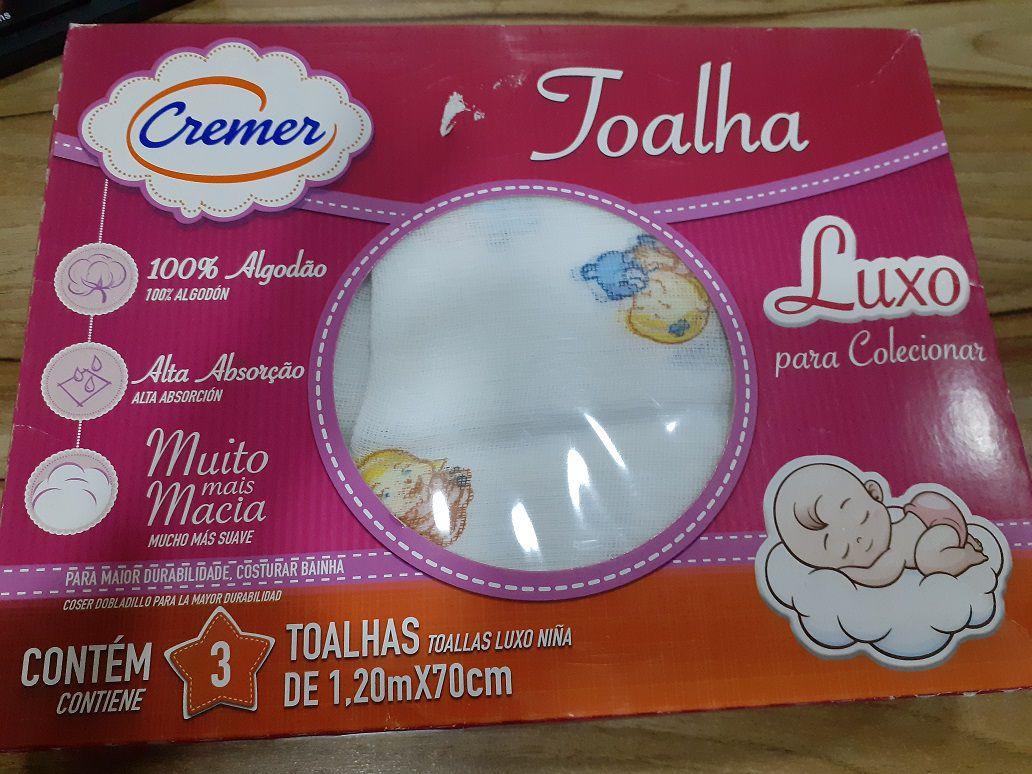 Toalha Luxo Cremer