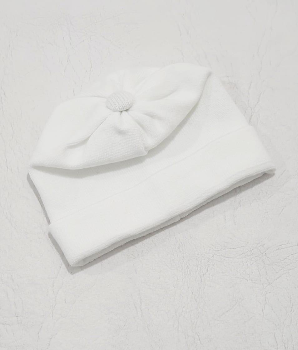 Touca em Tricô - 0 a 3 meses - Tricart Baby