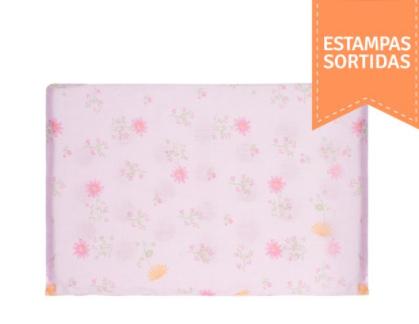 TRAVESSEIRO ANTISSUFOCANTE  ESTAMAPDO DE ESPUMA COM FUROS 29cm X 19cm X 3cm - PAPI