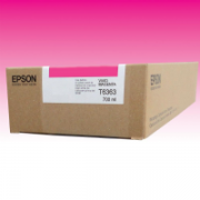 Cartucho Epson 7700M 7900 Original T6363 T636300 - 700 ML ? Magenta