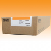 Cartucho Epson 7700M 7900 Original T636A T636A00 - 700 ML ? Orange