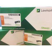 Toner Lexmark 51B4000 Original rendimento  ? 2.500 Pgs - Preto