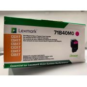 Toner Lexmark 71B40M0 Original rendimento  ? 2.300 Pgs - Magenta
