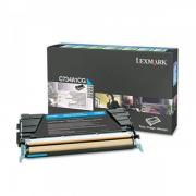 Toner Original C734dn Ciano / Azul C734A1CG Lexmark - acessoshop.com.br